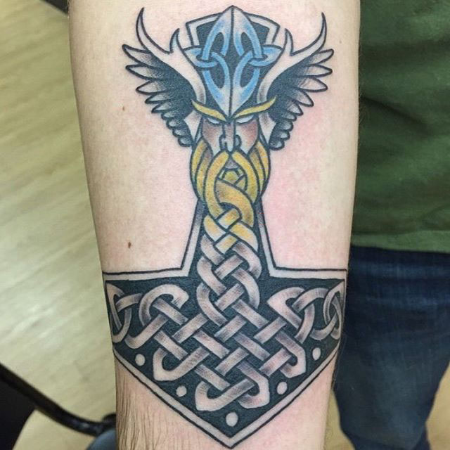 hammer of thor tattoo best tattoo ideas gallery
