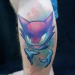 Haunter Pokemon Tattoo