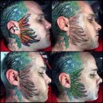 Head And Face Tattoos by @surrealtattoo