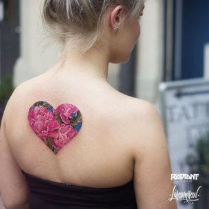Heart Tattoo for Girls