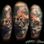 Joker and Harley Quinn Tattoo