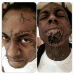 Lil Wayne's Chin Tattoo