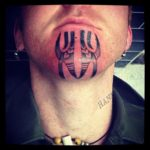 Maori Chin Tattoos