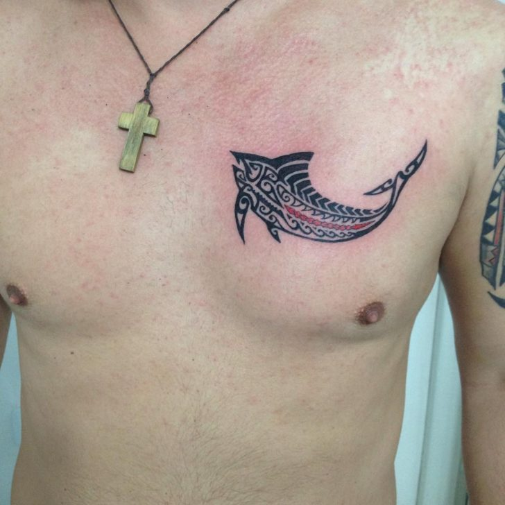 Maori Fish Tattoo by Fernandog Tattoo