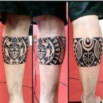 Maori Leg Tattoo