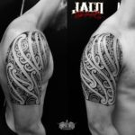 Maori Shoulder Tattoo Designs
