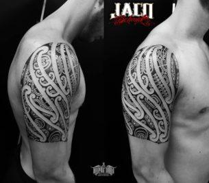 Maori Shoulder Tattoo Designs
