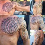 Maori Tattoo Half Sleeve by Taututattoo