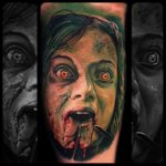 Mia from Evil Dead tattoo