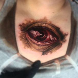 Monster Eye Tattoo