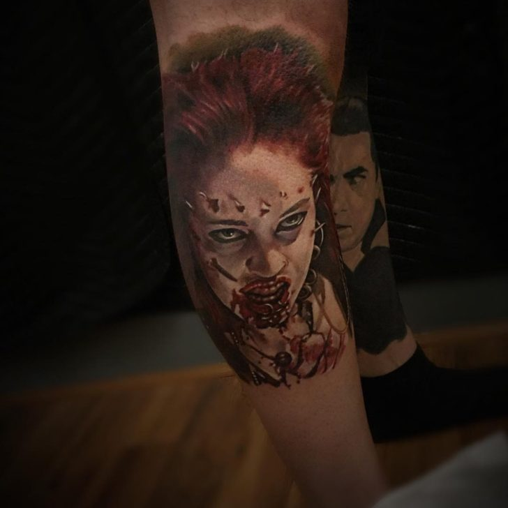 Return of the living dead part 3 by buschingtattoo