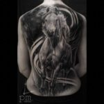 full back horse tattoo