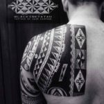 Shoulder Blade Maori Tattoo