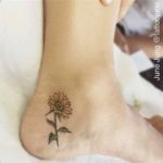 Side of Heel Tattoo