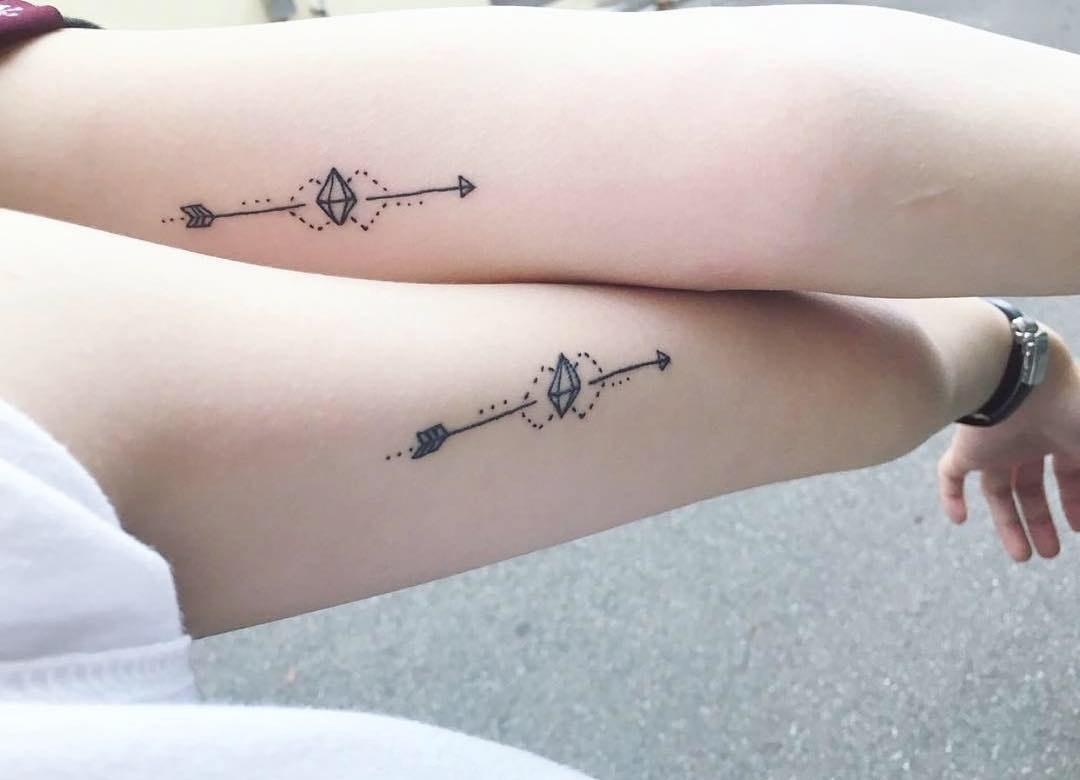 Simple Sister Tattoos