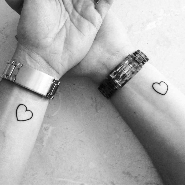Sister Heart Tattoos