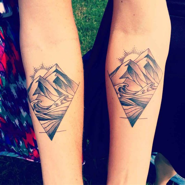 Sister Matching Tattoos