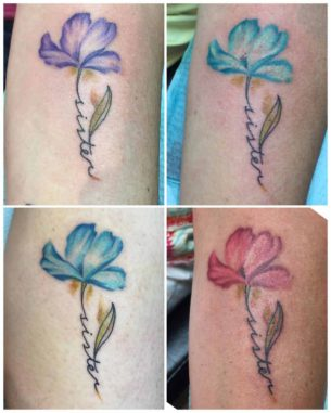 Sister Tattoos for 4