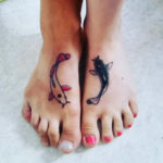 Sister Tattoos on Foot