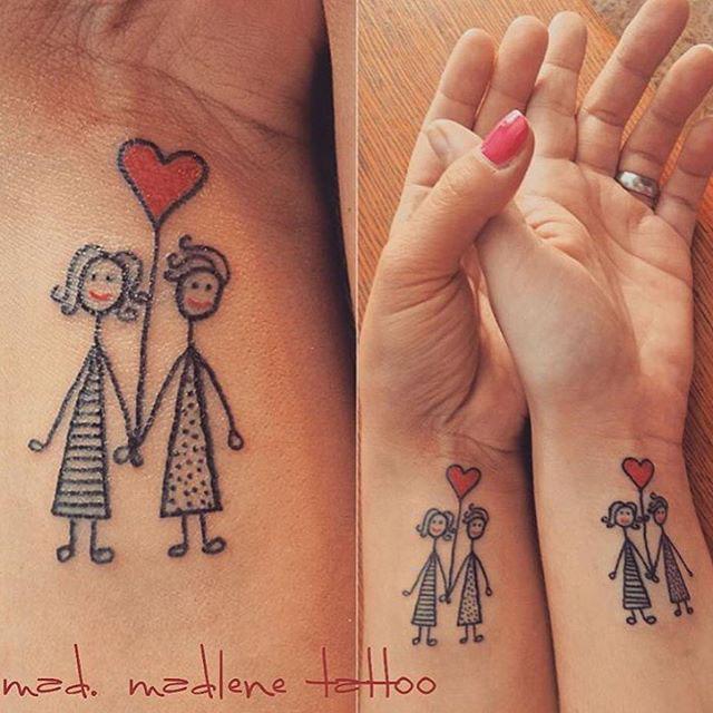 Sister Wrist Tattoos