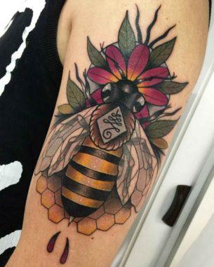 Tattoo Bee