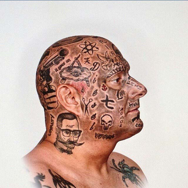 Tattoo Face Designs by domotoy