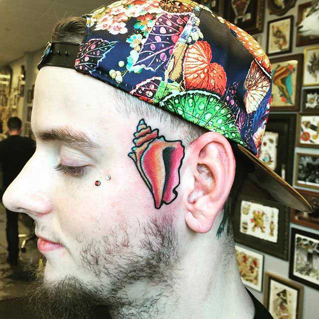 Tattoo Shell by Ken Dean