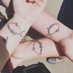 Tattoos For Three Sisters