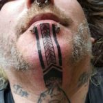 Tattoos on Chin