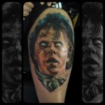 The Exorcist movie tattoo