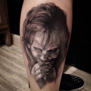 The Sweet Regan MacNeil tattoo