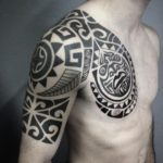 Traditional Maori Tattoo