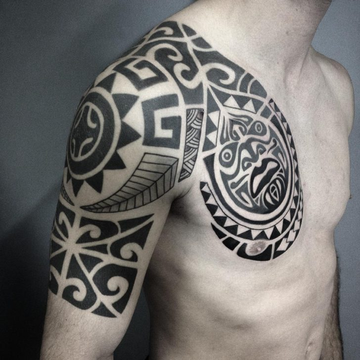 Traditional Maori Tattoo by Matsumi Tattoo