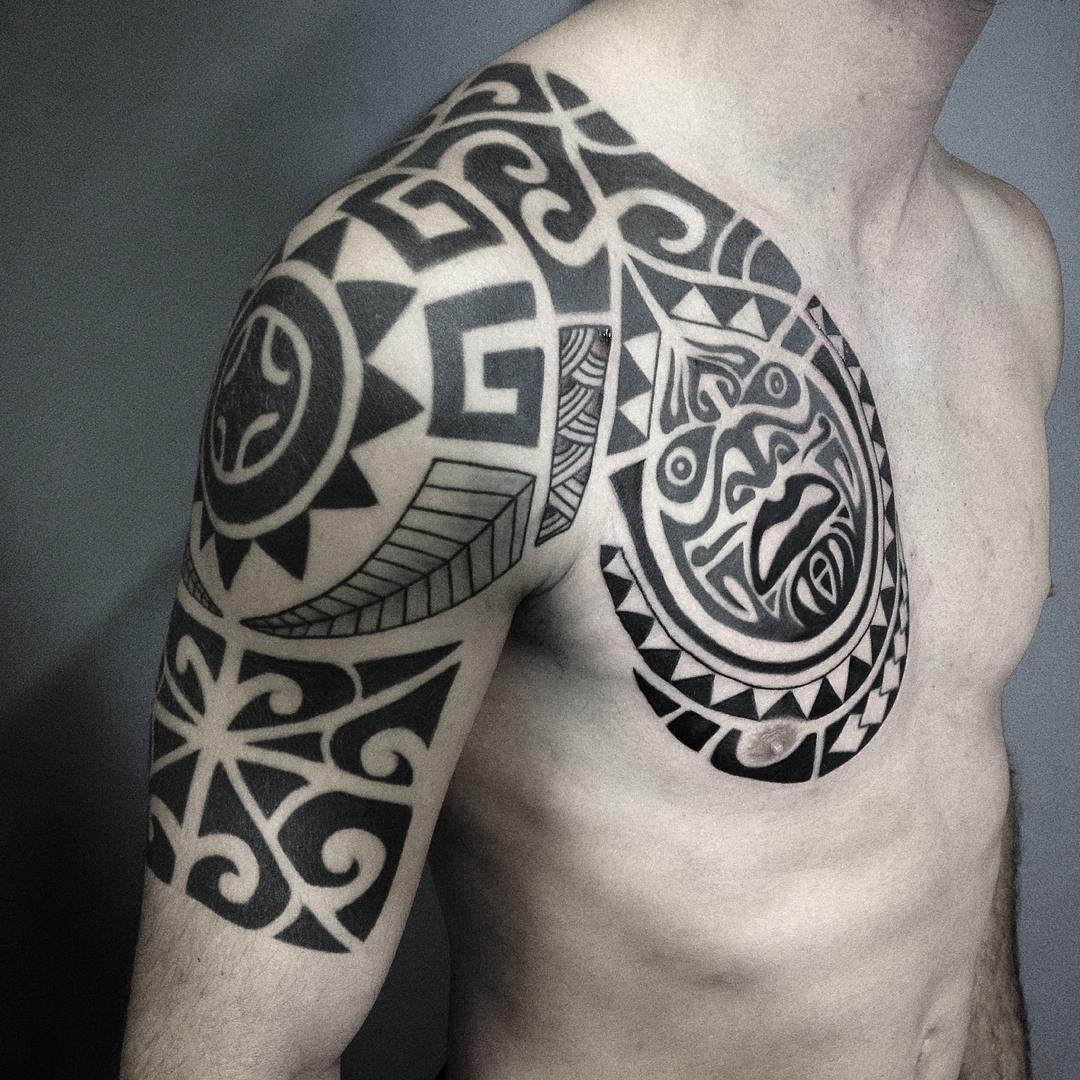 Traditional Maori Tattoo by Matsumi Tattoo