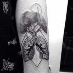 Tree Lungs Tattoo