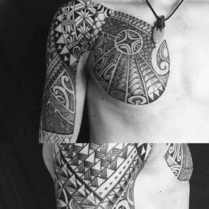 Tribal Tattoo Maori