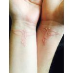 White Doves Couple Tattoos