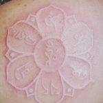 White Lotus Flower Tattoo