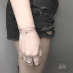 Wrist Bracelet Tattoo for Girls