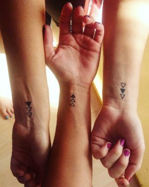 Wrist Tattoos for Sisters