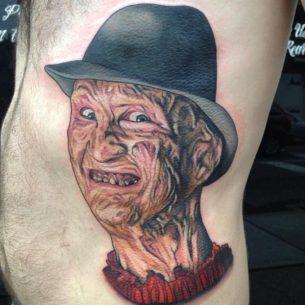 Frederick «Freddy» Charles Krueger tattoo