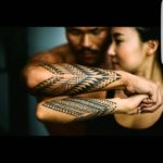 Couple Tribal Tattoos