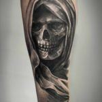 tattoo death skull