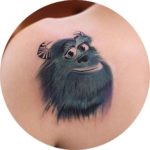 James P Sallivan Tattoo Monster Inc