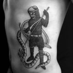 Medieval Knight Tattoo