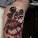 Mickey Mouse Vampire Tattoo