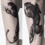 muscle panther tattoo