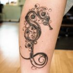 beautiful seahorse tattoo for girls
