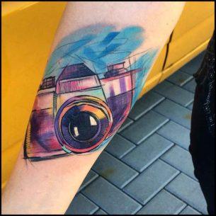 Tattoo of Camera