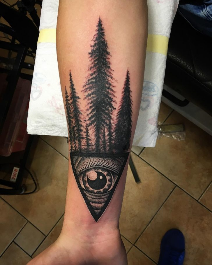 3d eye tattoo by livemaxtattoo